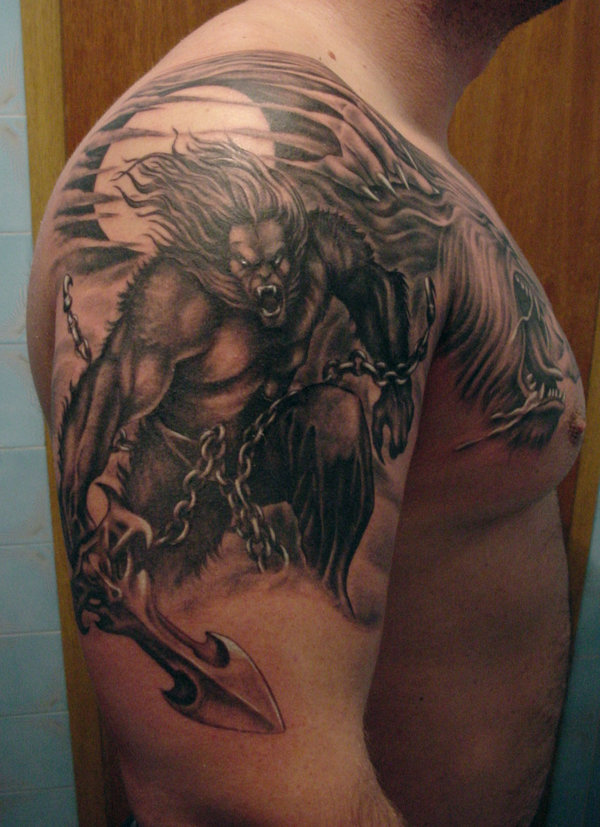 Awesome Wolf Tattoos images - Part 2 - Tattooimages.biz Native American Wolf Paw