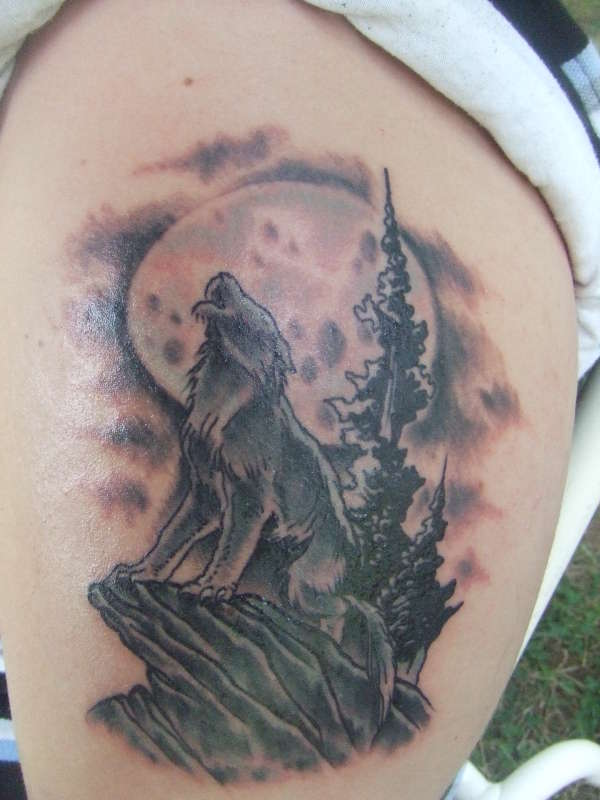 Awesome Wolf Tattoos images - Part 2 - Tattooimages.biz